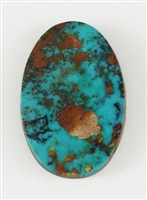 NATURAL PILOT MOUNTAIN TURQUOISE CABOCHON 19.5cts