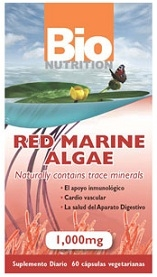 Bio Nutrition Red Marine Algae - 60 Caps