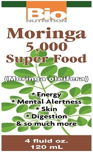 Liquid Moringa Super Food 4 oz. - Bio Nutrition