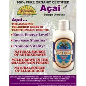 Acai Gold 100% Pure Acai Berry Juice