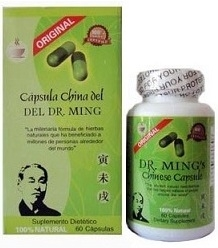 Dr. Ming's Chinese Slimming Capsules - 60 Caps