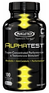 Muscletech Alpha Test Testosterone Booster - 100 Caps