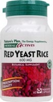 Nature's Plus Red Yeast Rice 600 mg 60 caps