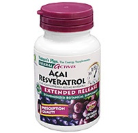 Nature's Plus Acai Resveratrol