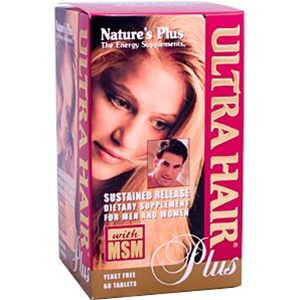 Nature's Plus Ultra Hair Plus 60 Tabs