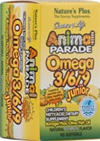 Nature's Plus Animal Parade Omega 3/6/9