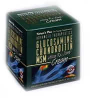 Nature's Plus Glucosamine Chondroitin MSM Cream