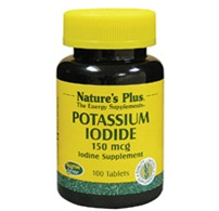Potassium Iodide Tablets by Nature's Plus 150 mcg