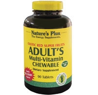 Nature's Plus Adult's Chewable Multivitamin