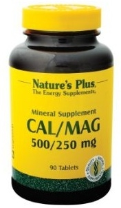 Nature's Plus Cal/Mag 500/250 mg
