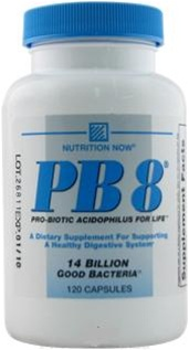 Nutrition Now PB8 Probiotic Acidophilus