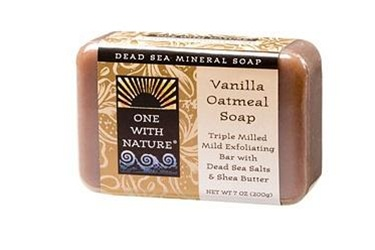 One With Nature Vanilla Oatmeal Soap Bar 7oz