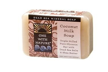 One With Nature Coconut Milk Soap Bar 7oz