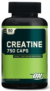 Optimum Nutrition Creatine 750 Caps