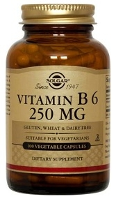 Solgar Vitamin B6 250 mg