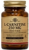 Solgar L-Carnitine 250 mg - 30, 60, or 90 vegicaps