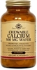 Solgar Chewable Calcium 500 mg - 60 or 120 Wafers