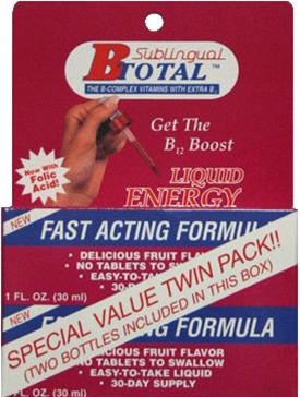 Sublingual B-Total Liquid Energy