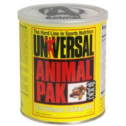 animal paks by Universal Nutrition