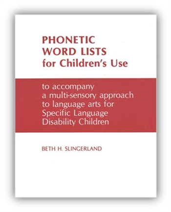 Phonetic Word Lists for Reference