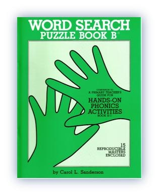 Word Search Puzzle Book B