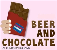 Beer and Chocolate Pairing (Feb 10th 4pm-6pm)