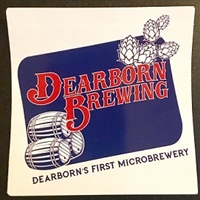Dearborn Brewing Sticker
