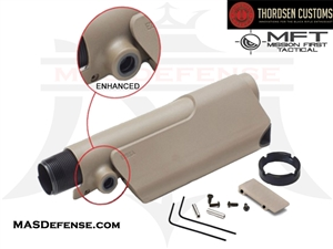 THORDSEN / MFT ENHANCED PISTOL CHEEK REST KIT - FDE #5034T