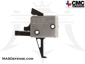 CMC TRIGGERS FLAT AR15 / AR-10 DROP-IN TRIGGER SINGLE STAGE 3.5 - 4 LB - 91503