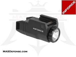 INFORCE APLC GLOCK WEAPON LIGHT 200 LUMENS LED - ACG-05-1
