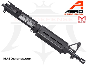 "10.5"" 5.56 /.223 AERO PRECISION BARRELED UPPER W/ PINNED FSB MAGPUL MOE CARBINE - APAR502503M3"