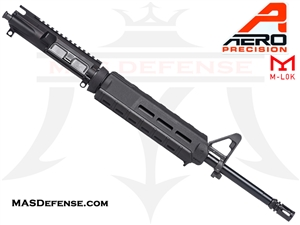 "16"" 5.56 /.223 AERO PRECISION BARRELED UPPER W/ PINNED FSB MAGPUL MOE - APAR502503M65 - MID-LENGTH GAS"