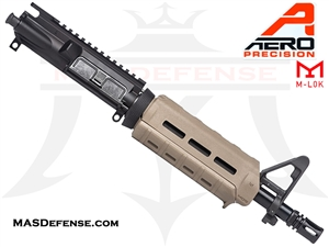 "10.5"" 5.56 /.223 AERO PRECISION BARRELED UPPER W/ PINNED FSB MAGPUL MOE CARBINE - APAR502504M3 - FDE"