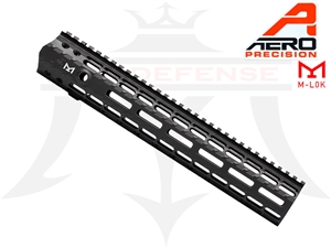"AERO PRECISION AR-10 .308 12"" M5 ENHANCED M-LOK HANDGUARD GEN 2 WITH BARREL NUT - APRA308226C"