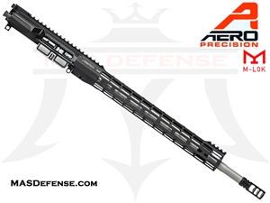 "18"" 6.5 GRENDEL AERO PRECISION BARRELED UPPER W/ BCG, FCH AND VG6 - 15"" M-LOK ATLAS S-ONE - BLACK - APSL100019"