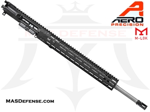 "20"" .224 VALKYRIE AERO PRECISION BARRELED UPPER W/ BCG AND FCH - 15"" ENHANCED M-LOK GEN 2 HG - BLACK - APSL100029S"