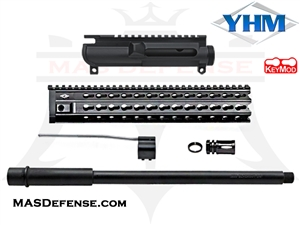 "AR-15 16"" 300 BLACKOUT BUILD KIT WITH 12"" YANKEE HILL KR7 RAIL- NOT ASSEMBLED"