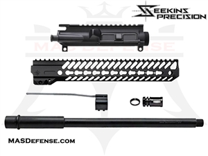"AR-15 16"" 300 BLACKOUT BUILD KIT WITH 12"" SEEKINS NOXS RAIL- NOT ASSEMBLED"