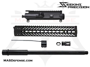 "AR-15 16"" 300 BLACKOUT BUILD KIT WITH 12"" SEEKINS V2 RAIL- NOT ASSEMBLED"