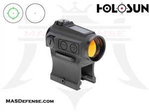 HOLOSUN ELITE GREEN CIRCLE / DOT SIGHT - SOLAR - HE503CU-GR