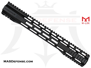 "BA GEN3 15"" M-LOK FREE FLOAT SLIM HAND GUARD"