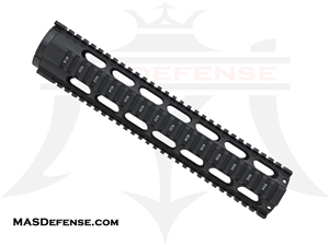 "OMEGA 12.5"" FREE FLOAT QUAD RAIL"