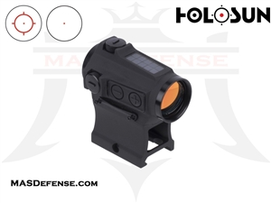 HOLOSUN RED CIRCLE / DOT SIGHT - SOLAR - HS503CU