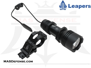 UTG COP LED LIGHT 200 LUMEN HANDHELD OR QD RAIL MOUNT - LT-EL138