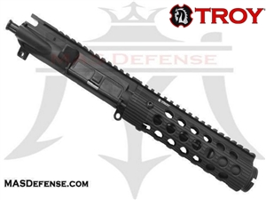 "4.75"" 9MM BARRELED UPPER - TROY ALPHA RAIL 7.2"""