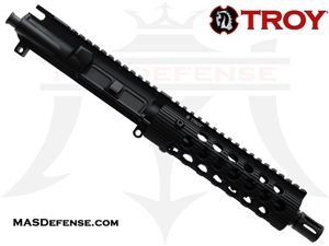 "7.5"" 300 BLACKOUT BARRELED UPPER - TROY ALPHA RAIL 7.2"""