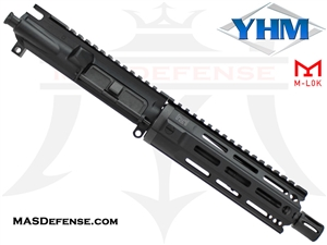 "7.5"" 300 BLACKOUT BARRELED UPPER  - YANKEE HILL 7.29"" MR7 M-LOK"