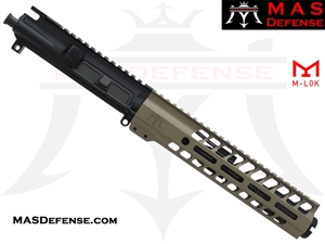 "7.5"" 5.56 / .223 BARRELED UPPER - MAS NERO 9.87"" M-LOK RAIL - FDE"