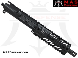 "7.5"" 5.56 / .223 BARRELED UPPER - MAS DEFENSE 7"" SQUADRON LIGHTWEIGHT QUAD RAIL"
