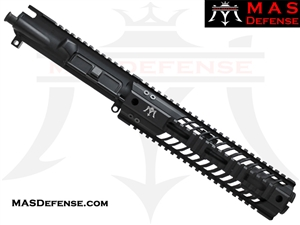 "7.5"" 5.56 / .223 BARRELED UPPER - MAS SQUADRON 9.87"" LIGHTWEIGHT QUAD RAIL"